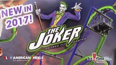 The Joker @ Six Flags New England Construction Update And More