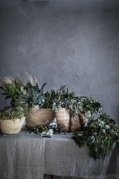 diy organic wreath tutorial