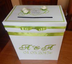 Pudełko na koperty, Więcej na www.facebook.com/pracownialagutko