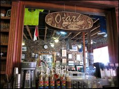 15. Ozark Café in Jasper: The history of this soda fountain in Arkansas goes back 100 years.