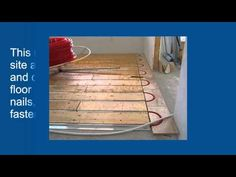 Efficiency advantages of ThermoFin U For Radiant Heated Floors - How to install radiant heating in your new floors using ThermoFin U. Radiant Engineering Inc #video #radiant #heated #floors