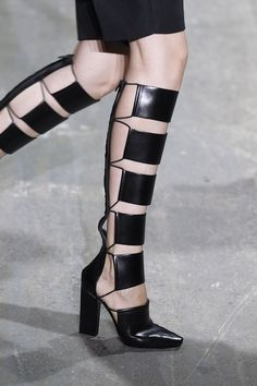cutout boots    Alexandar Wang Spring 2013 by suzanne.jacobson.37