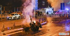Samedi soir 10 décembre, après la fin du match Beşiktaş-Bursaspor, et la dispersion au sortir du stade, est survenue une double explosion à Istanbul.