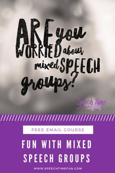 Mixed speech groups