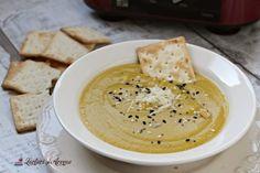 supă cremă de legume Hummus, Ethnic Recipes, Food, Nails, Fine Dining, Salads, Finger Nails, Ongles, Essen