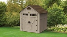 With the Highland® Storage Shed you can easily sift, sort, and save your belongings for the cooler months ahead.