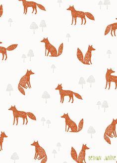 Wildwood foxes