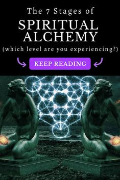 7 Stages of Spiritual Alchemy ⋆ LonerWolf At its root, alchemy is the transformation of the self. Learn about spiritual alchemy and the seven stages of illumination and inner liberation! Spiritual Health, Spiritual Awareness, Spiritual Guidance, Spiritual Wisdom, Spiritual Awakening, Spiritual Growth, Spiritual Psychology, Spiritual Warrior, Spiritual Meditation