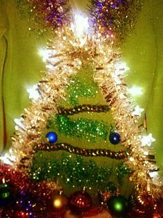 Ugly Christmas Sweater -O Christmas Tree 2013 sacs ugly christmas sweaters couture