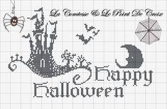 """Care amiche, quest'anno (chissà perchè?..) sento in particolare l'atmosfera """"halloweeniana"""",   ho ricamato uno schema fantastico dell..."""