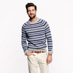 J.Crew - McCallum Fair Isle sweater