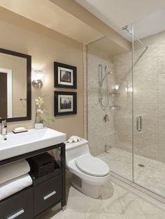 Modern bathroom decor ideas best small bathroom designs ideas only on small elegant trendy bathroom design . Contemporary Bathroom Designs, Modern Bathroom Design, Bath Design, Modern Bathrooms, Bathroom Interior, Tile Design, Modern Contemporary, Design Color, Vanity Design