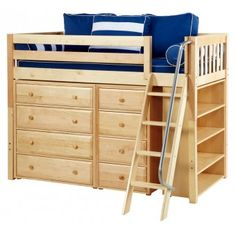 adult loft bed with desk - Google Search