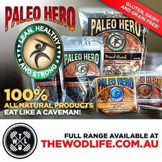 Interested in trying out Australia's leading Paleo Products? Well The WOD Life are giving you the chance with free shipping this weekend!!! It's the weekend, so why not treat yourself! @paleohero @THE WOD LIFE #paleo #paleoaustralia #thewodlife #thewodlifeau #crossfit #crossfitaustralia #paleolifestyle #paleohero #natural #cleaneating #healthylifestyle #paleofood #foodporn #foodaustralia #caveman #eatlikeacaveman #freeshipping #weekend #glutenfree #allnatural