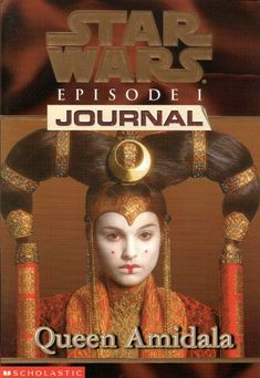 Queen Amidala (Star Wars Episode Journal by Jude Watson 0590521012 9780590521017 Amidala Star Wars, Star Wars Episoden, Queen Amidala, Star Wars Books, Star Wars Party, Used Books, My Books, Pop Up, Pirates