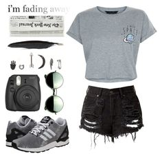 """""""#75хх"""" by maxxie-li ❤ liked on Polyvore featuring New Look, Revo, adidas Originals, Fujifilm, With Love From CA and Ann Demeulemeester"""