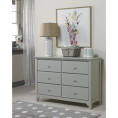 Babysupermarket is proud to offer Ti Amo Carino and... see it person or online at http://babysupermarket.com/products/ti-amo-carino-and-catania-double-dresser-misty-grey?utm_campaign=social_autopilot&utm_source=pin&utm_medium=pin