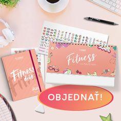 Fit DUO na rok 2020 – Fitness diár + Fitness kalendár - Fitshaker
