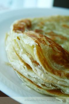 Roti Canai - MALAYSIAN PARATHA: SO happy I found this, a more traditional recipe and method