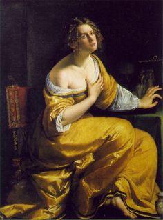 Artemisia Gentileschi Mary Magdalene Pitti - Artemisia Gentileschi - Wikipedia, the free encyclopedia