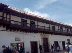 Tunja, centro histórico-Colombia.