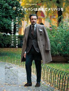 Andrea Andreoli Source: Men's Club Magazine Club Magazine, Mature Fashion, Gentleman Style, Modern Man, Dapper, Dress To Impress, Mens Fashion, Fashion Fall, Suit Jacket