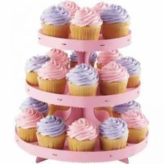 Pink Cupcake Treat Stand by vision2win