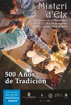 500 años de Tradición. Campaña publicitaria #MisteridElx 2014 realizada por @grupoanton