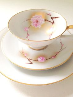 Vintage Teacup and Saucer Set