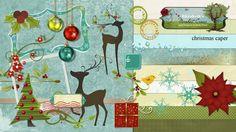 Christmas Caper by Elizabeth's Market Cross.
