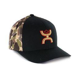 91a7c853a17 HOOey Men s Chris Kyle Camo and Flag Ball Cap Hooey Hats