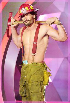 Magic Mike - Joe Manganiello  Ok...where do I have to live get him to show up when I call 911? :)