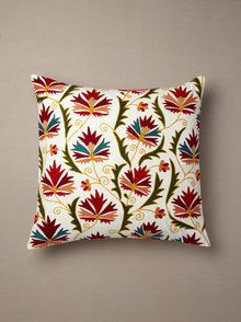 Suzani Chinarose Pillow by Better Living at Gilt