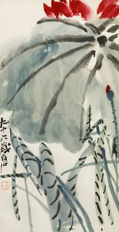 Qi Baishi A particularly favourite painting - in general terms not just of Qi Baishi's work [ff]