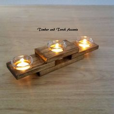 Home Candle Holders Wood Tea Light Holder, Wooden Candle Holders, Votive Holder, Home Candles, Tea Light Candles, Tea Lights, Nautical Candles, Wood Projects That Sell, Bois Diy
