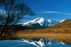 Blà Bheinn Reflected in Loch Cill Chriosd in Winter - Isle of Skye - Scotland (Leo in Canberra)