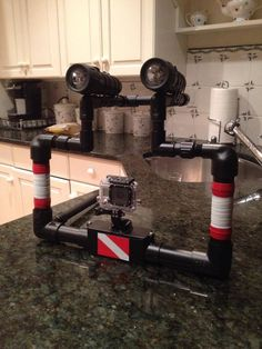 DIY Gopro platform made by Joseph Lockridge
