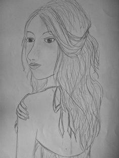 girl's face 2