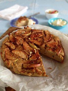 Æblekage med bid