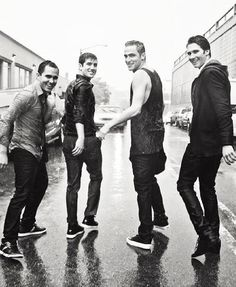 Big Time Rush. I don't like boybands a lot but i do love these 4 guys,they're so funny and their songs are catchy :)