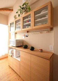 「新築 造作 食器棚」の画像検索結果