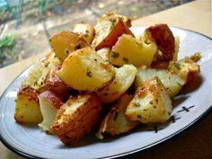 Parmesan Roasted Potatoes - Budget Bytes