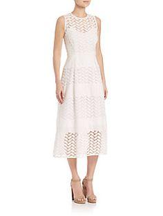 Shoshanna - Monica Lace A-line Dress