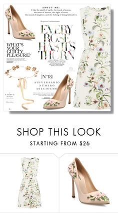 """No 346:Floral Spring"" by lovepastel ❤ liked on Polyvore featuring Sinclair, Warehouse, Giambattista Valli and Eugenia Kim"