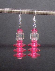 Lego earrings!!! So cute!!