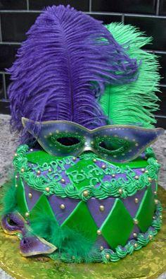 MardiGras cake