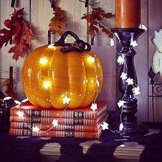Ghost shaped lights #halloweendecor #halloweendecorations #happyhalloween #boo #halloween #halloween2015 #spooky #fall #falldecor #autumn #pumpkins by halloween_decor_ #halloween #halloweenideas #halloweendecor #halloweenfun