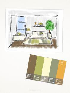 95 Fantastiche Immagini Su Arredamento Casa Color Schemes Colors