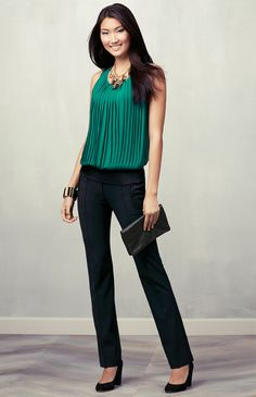 #festivefaves Ann Taylor Must-Have Look: Be Bold. @Ann Taylor. Got it in this color too!