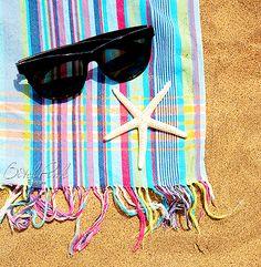 summer, beach, starfish, ray bans